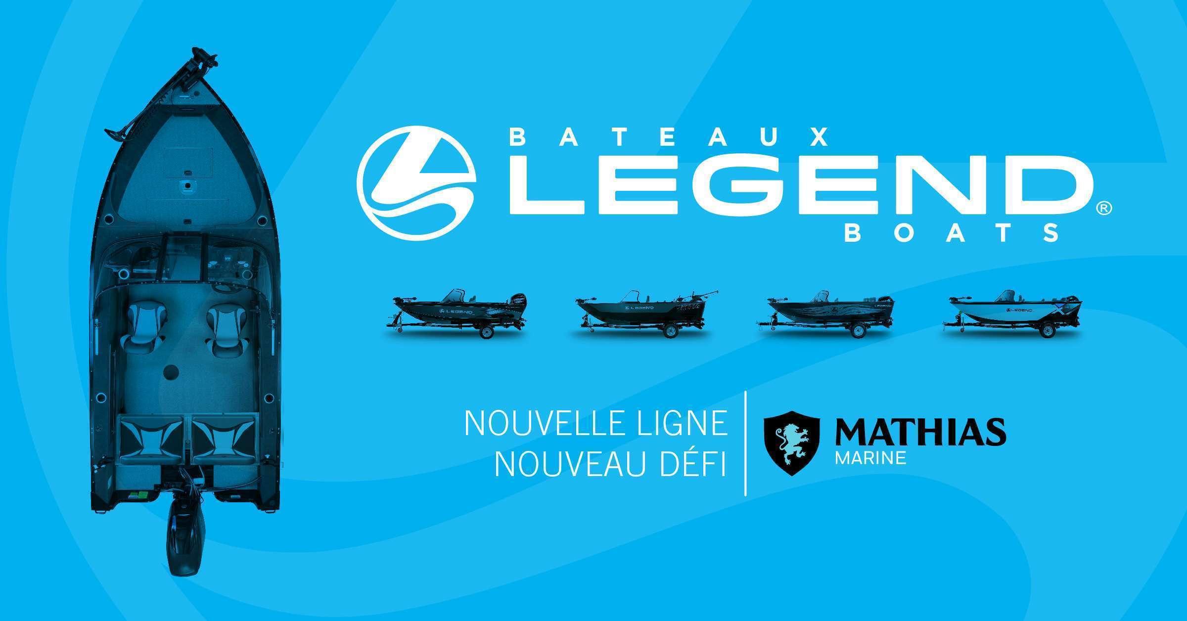 Mathias Marine: nouvellement concessionnaire des bateaux Legend