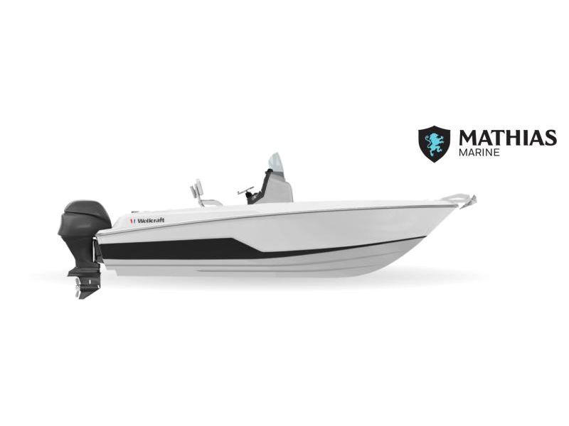 MM-21-0098 Neuf WELLCRAFT 222 FISHERMAN 200 XL 4S DTS  2021 a vendre 1