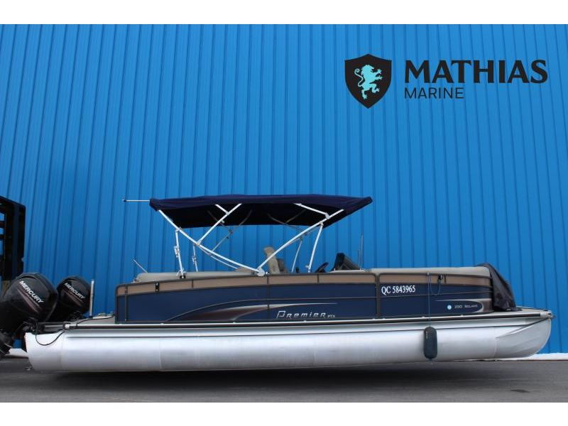 MM-C-21-0068 Occasion PREMIER PONTOONS 250 SOLARIS 2014 a vendre 1