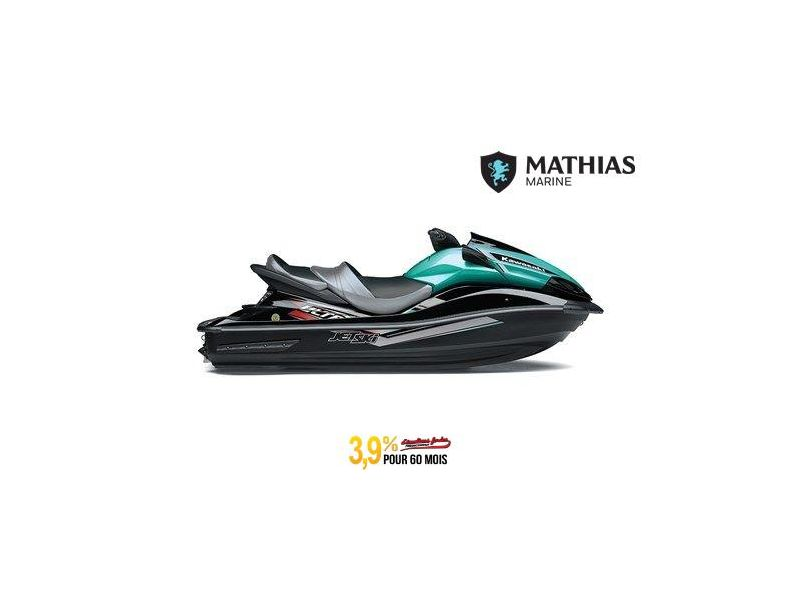 MM-21-0587 Neuf Kawasaki JET SKI ULTRA LX ÉBÈNE / MARÉE TURQUOISE 2021 a vendre 1