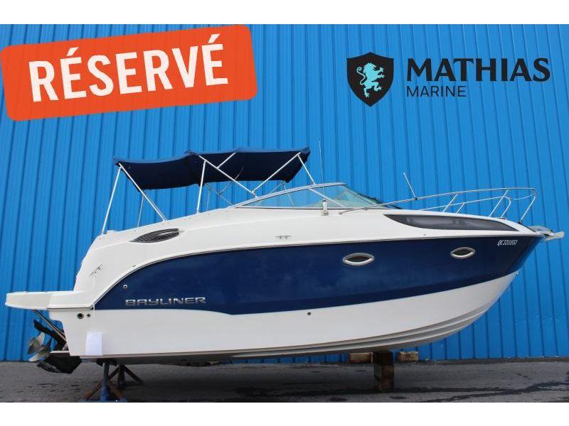MM-C-21-0046 Occasion BAYLINER 255SB  2012 a vendre 1