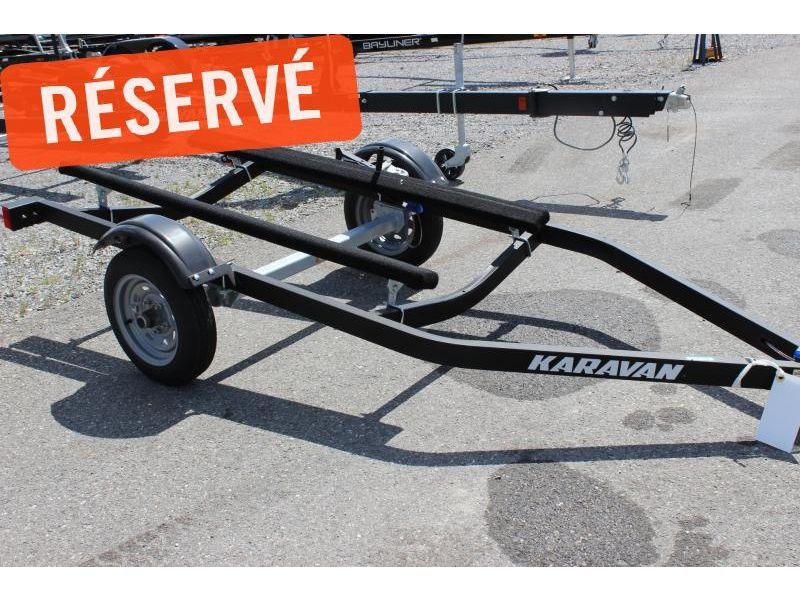 MM-R19-0009 Neuf KARAVAN TRAILER REMORQUE À MOTOMARINE 3 PLACES 2019 a vendre 1