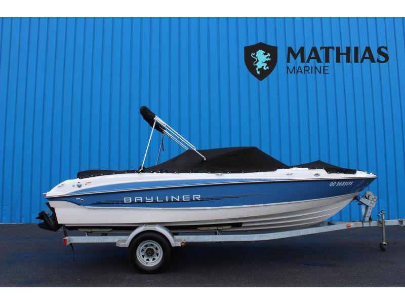 MM-P21-0045 Occasion BAYLINER 215 2012 a vendre 1