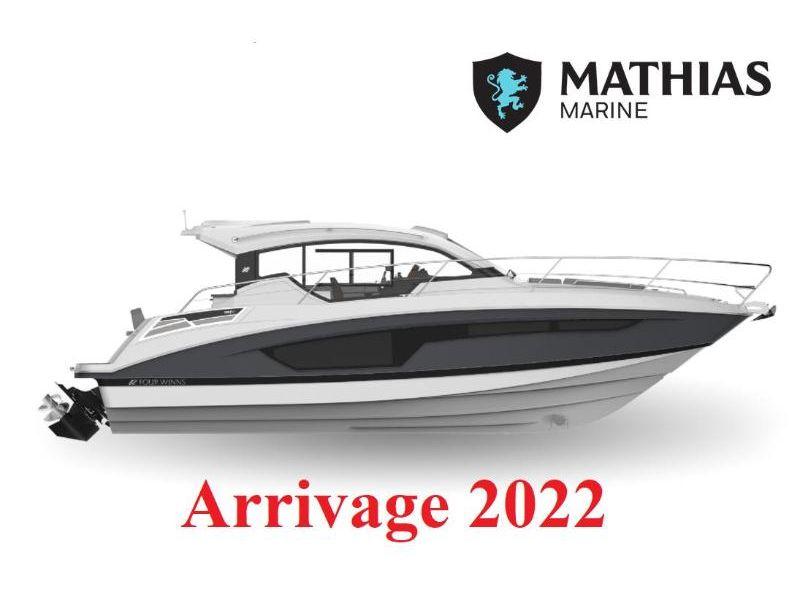 MM-22-0028 Neuf FOUR WINNS VISTA 355 COUPE 6.2L EC/BRAVO3 2022 a vendre 1