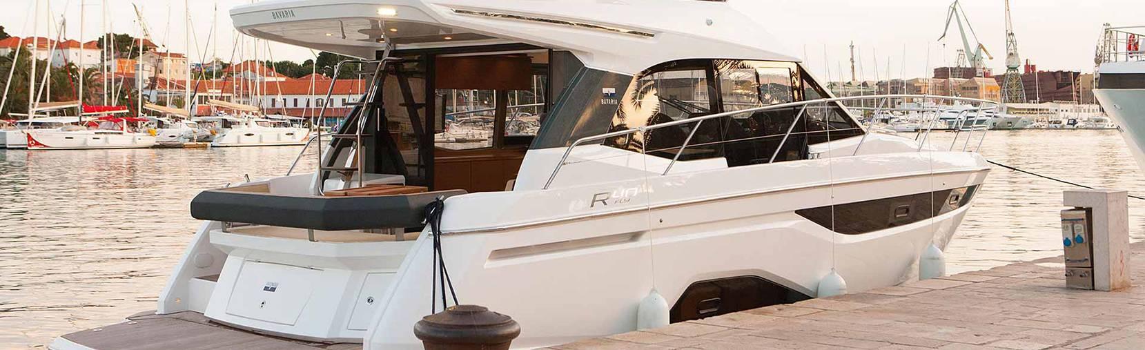 Bavaria R40 boat