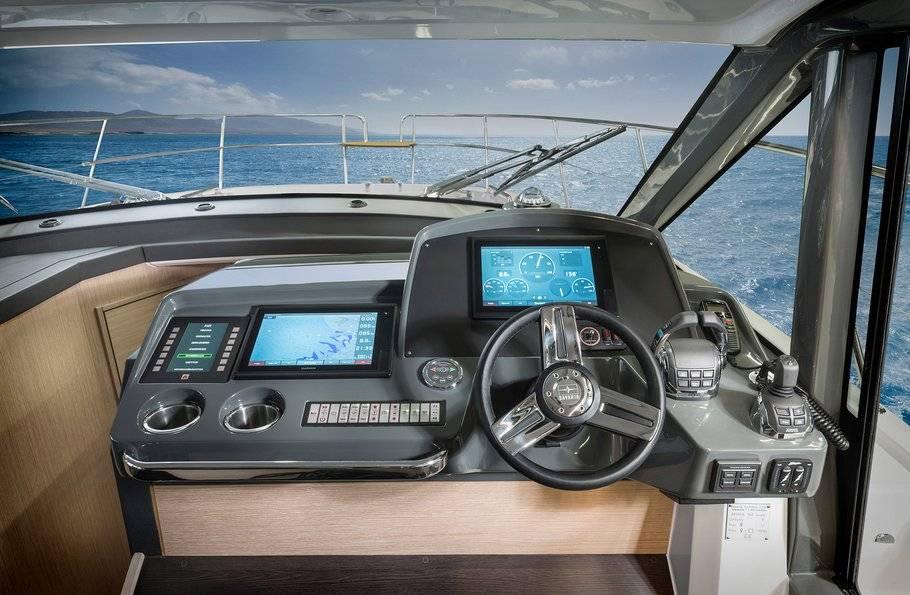 Bavaria r40 cockpit