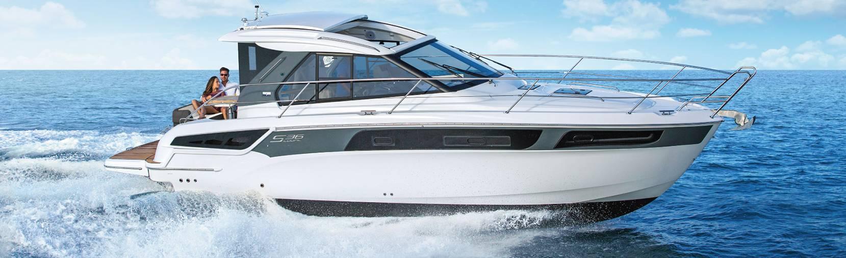 Bavaria S36 boat