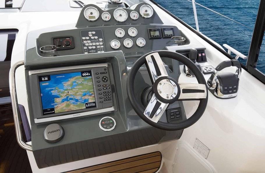 Bavaria s40 cockpit