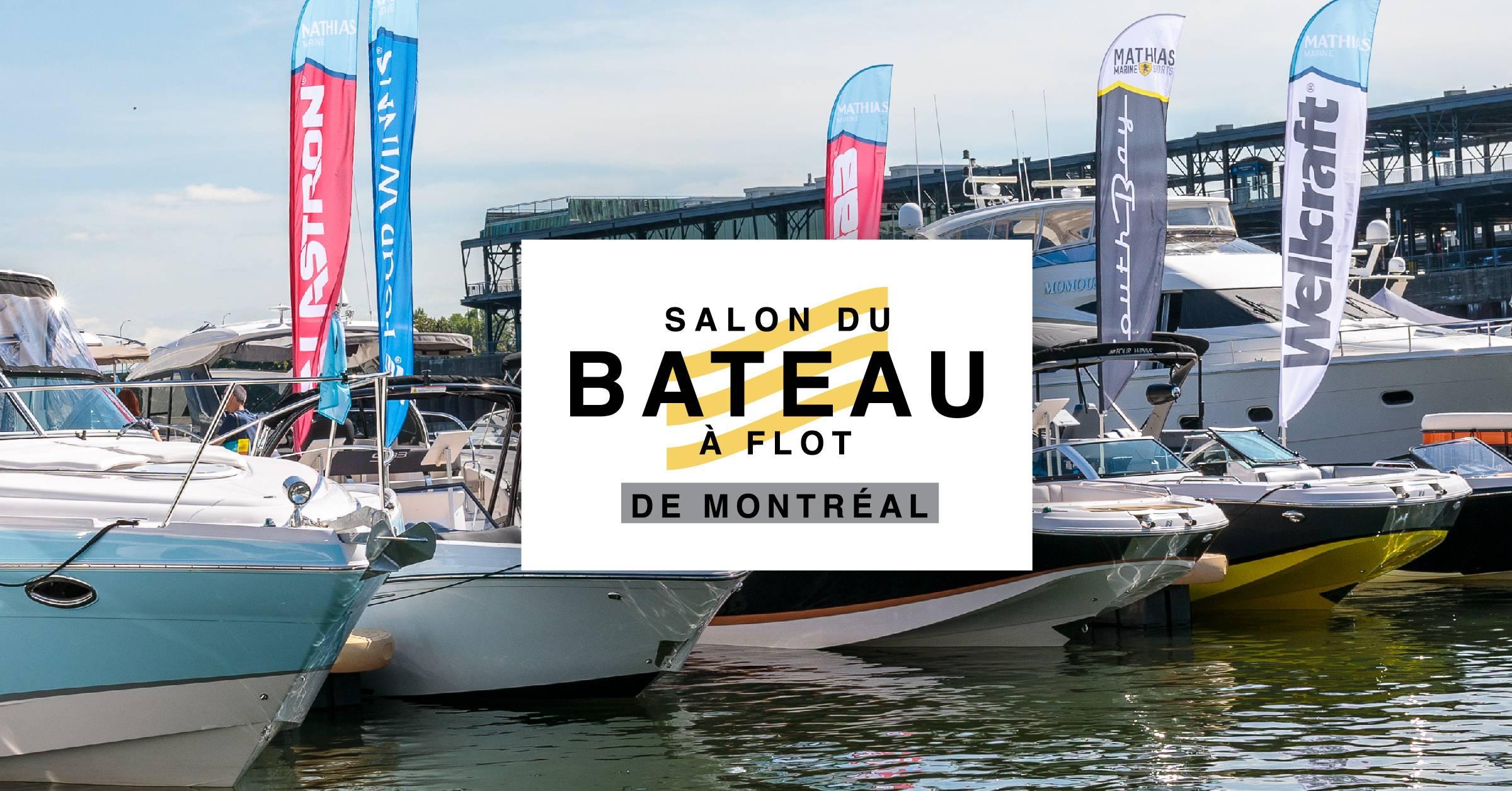 Du 6 au 8 septembre, ne manquez pas le Salon du Bateau à Flot de Montréal