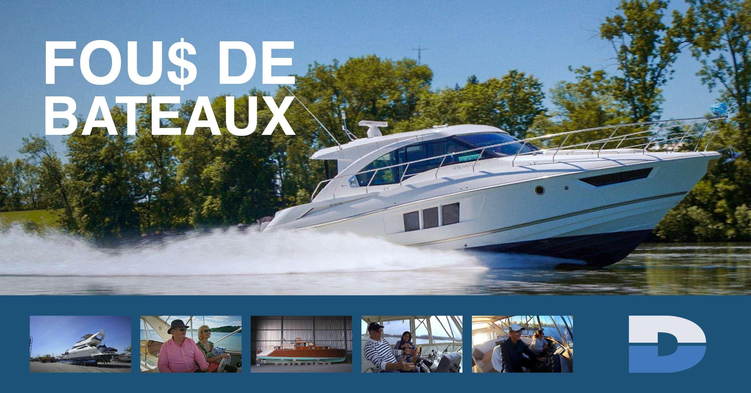 Toujours aussi FOU$ DE BATEAUX depuis 1988 !