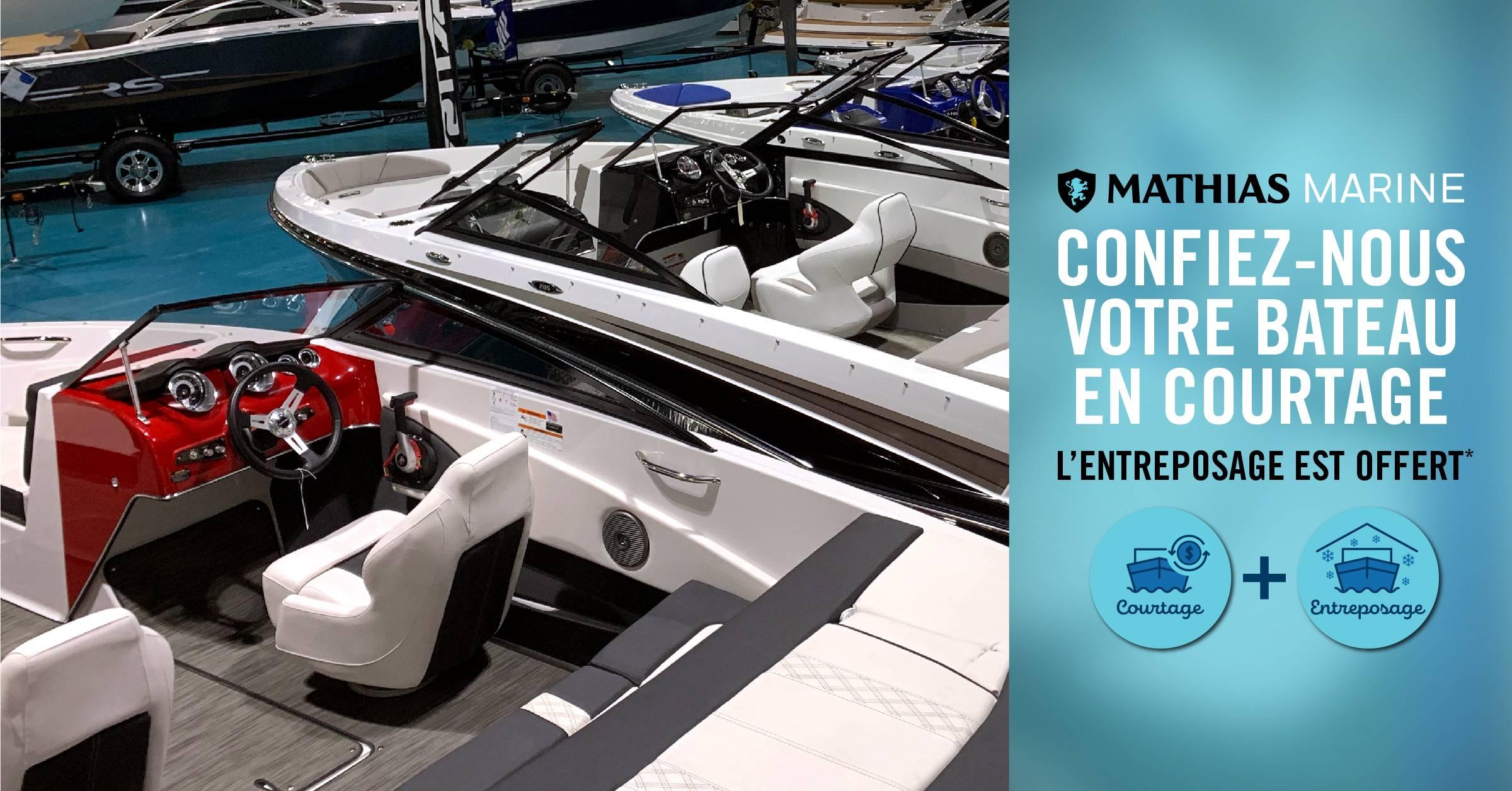 Confiez-nous votre bateau en courtage: votre entreposage pourrait être gratuit!