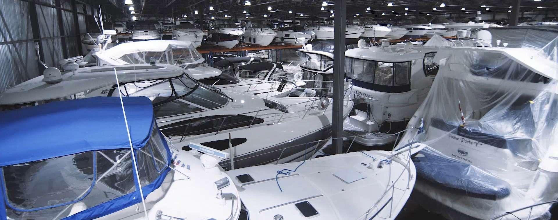 entreposage bateaux